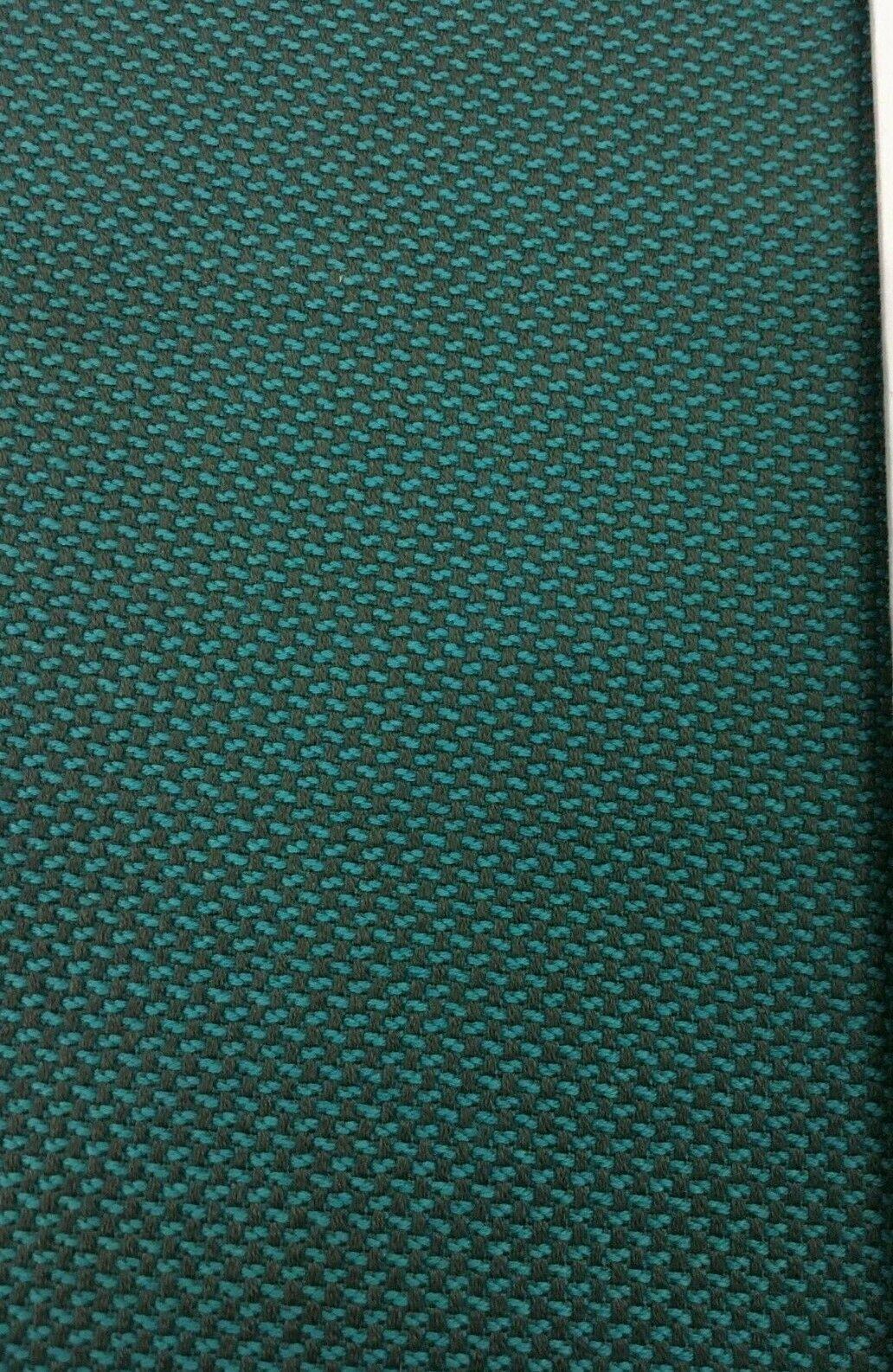 Bleu et Gris Mouchetée Tapisserie Tissu 12.3m Bd