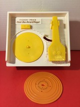 Fisher Price 2010 Mattel Music Box Record Player 1 Double Sided Record Gift - $12.02
