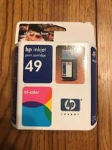 HP Inkjet 49 Tri-Color Print Cartridge New Ships N 24h - $12.85