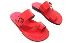 Leather Sandals for Men ASHER by SANDALIM Biblical Greek Jesus Sandals R... - $46.01 CAD+
