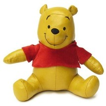 Disney Winnie the Poo Leather doll with Music box Plush toy Doll Sankyo ... - $82.17
