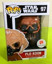 Funko POP Star Wars Plo Koon Vinyl Figure Walgreen's Exclusive - $13.85