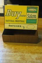 Salem cigarettes advertising brand match holder retailer store match dis... - $118.75