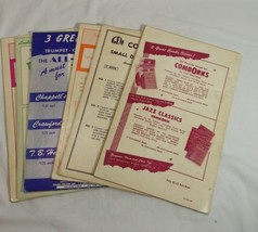 Lot Of 6 Como Orks For Small Dance Band Orchestra Songbooks B Flat - $18.70