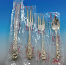 Repousse by Kirk Sterling Silver Flatware Set for 8 Service 32 pieces Ne... - $1,995.00