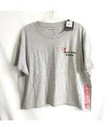 Grayson Threads XXL Cropped TShirt Cotton Gray Feel The Feels - $11.13