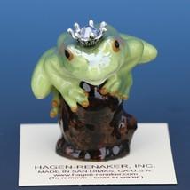 Birthstone Tree Frog Prince December Zircon Miniatures by Hagen-Renaker image 1