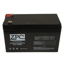 Zpc 12V 7.2AH Rechargeable Battery Apc ES500 ES550 RBC110 RBC2 - $20.48