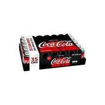 Coca-Cola Coke Zero Cans, 12 Ounce [35 Cans] - $45.13