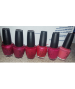 OPI polish Lillehammer Nordic nights Wanted red or alive Confucius says ... - $60.00