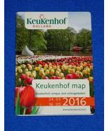 *BRAND NEW* KEUKENHOF HOLLAND BROCHURE MAP KITCHEN GARDEN FLOWER BULBS T... - $3.99