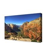 DECORARTS - Angel's Landing at Zion National Park, Utah. Giclee Canvas P... - $70.04