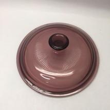 "Pyrex Vision V1C - Purple Cranberry - 6 1/4"" Lid Only - $6.92"