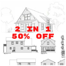 House Plan 2 in 1  discount   ✔  - $90.00