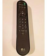 LG 6710T00008V Original LG Replacement TV Remote Control 17LX1RMB - $14.84