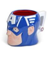 Marvel Commics Captain America Ceramic Coffe Face Mug - $23.99