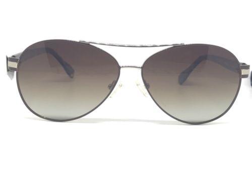 d0f6d839fb6 Elie Tahari Sunglasses Polarized Aviator Sunglasses (Gold Brown) -  98.01