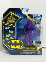 "Spin Master DC The Joker Super Rare 4"" Figure Purple Chase Variant - $18.78"