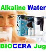 Biocera Water Filter Pitcher Alkaline Anti Oxidant water filter jug  2 C... - $107.81