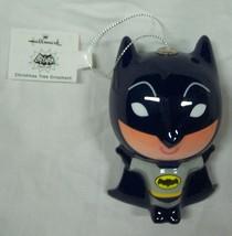 BATMAN Classic Dc Comics JUSTICE LEAGUE HALLMARK CHRISTMAS HOLIDAY ORNAM... - $14.85