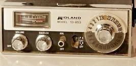 Vtg Midland CB Radio Transceiver 23 Channel Model 13 853 Mobile Unit 1976  - $34.64