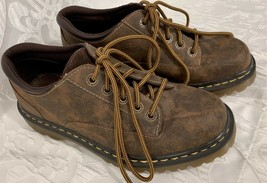 Dr Martens Abilene Womens Shoes Lace Up Leather Brown Size 8 M Nice Shape! - $44.99
