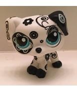 LITTLEST PET SHOP DOG DALMATIAN BLACK & WHITE w BLUE EYES RESCUE TAILS #... - $24.99