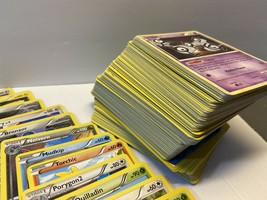 POKEMON CARD GIFT LOT Over 240 OFFICIAL CARDS! - $49.49