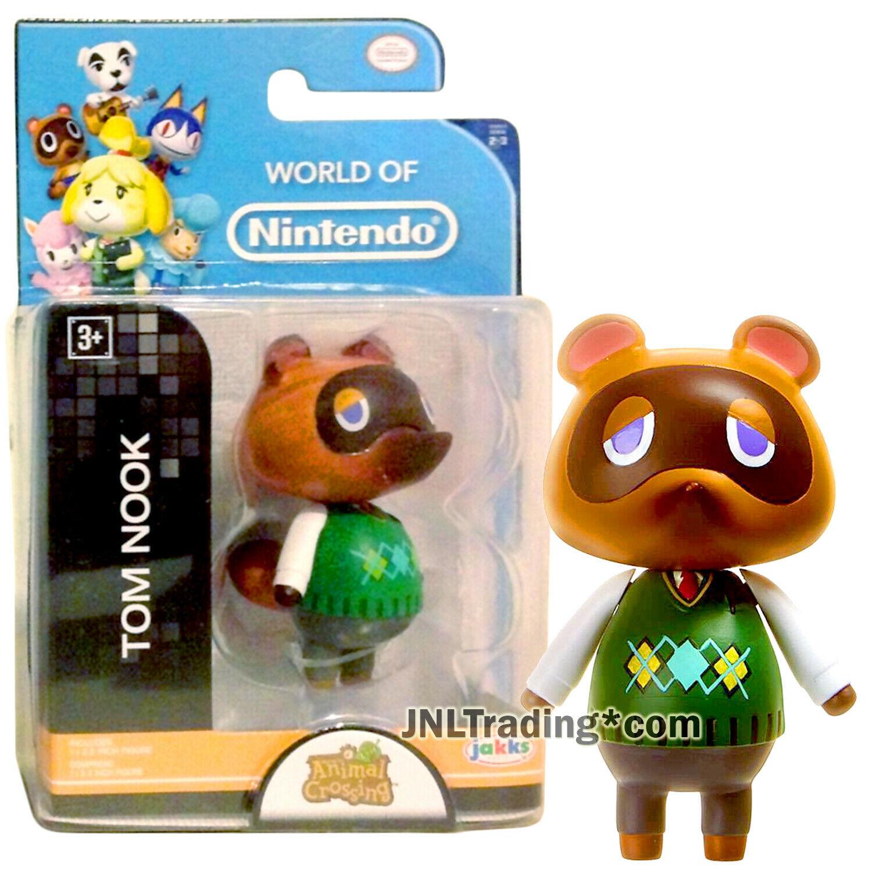 Year 2016 World of Nintendo Animal Crossing Series 2-1/2 Inch Figure TOM NOOK - $24.99