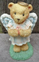 "Cherished Teddies Figurine 1992 ANGIE, # 951137 ""I Brought the Star"" Christmas - $12.99"