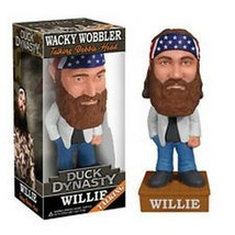 Duck Dynasty Willie Robertson Talking Bobblehead FUNKO NIB NIP - $18.55