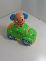 FISHER PRICE LAUGH & LEARN PUPPY'S LEARNING CAR 20+ SONGS - $9.90