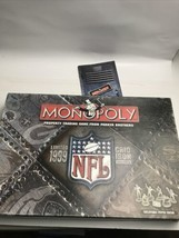 Monopoly Football NFL 1999 Grid Iron Edition by Parker Brothers Vintage Complete - $19.80