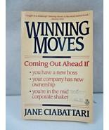 Winning Moves Book by Jane Ciabattari - $4.00