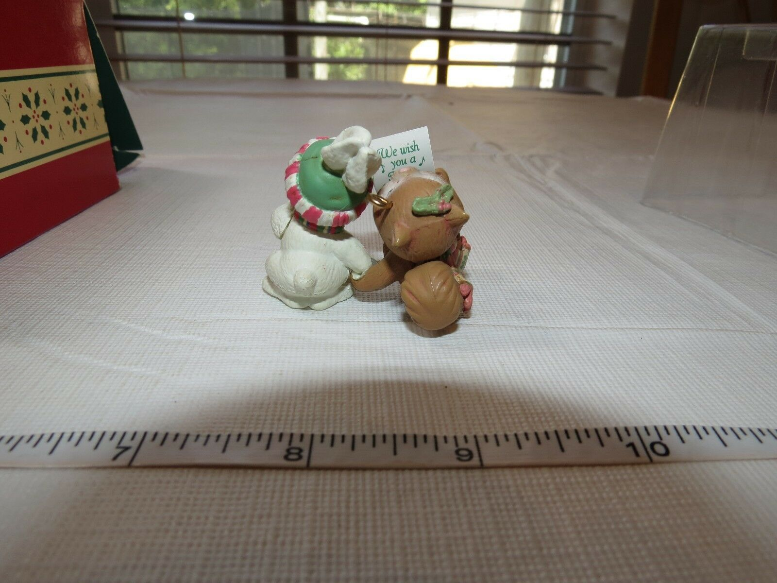 Carlton Cards Heirloom Collection Christmas Ornament Holiday Harmony Chipmunk Rb image 3