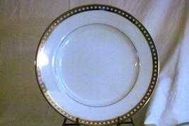 "Mikasa 2003 Platinum Symmetry Dinner Plate 10 7/8"" #LS620 - $10.39"