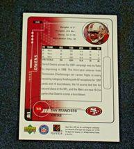 San Francisco 49er's Terrell Owens #81 WR Football Trading Cards AA-191804 Vinta image 7