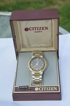 Vintage CITIZEN GN 4W S man quartz watch in Box New Battery ''GURANTEED'' - $28.01