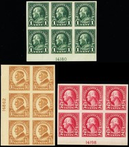 575-77, Set of Three Plate Blocks VF OG LH Cat $155.00 - Stuart Katz - $95.00