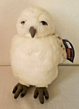 Universal Studios Harry Potter Hedwig White Owl Hand Puppet Turning Head... - $21.23