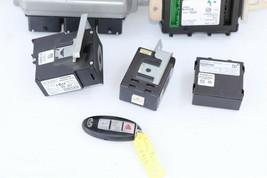 2008 Infiniti EX35 ECU BCM Ignition Keyless Entry Fob Combo Set image 2