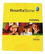 ROSETTA STONE SPANISH Level 1 VERSION 3 Complete w/ Headset & Key Windows Mac - $56.09