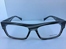 New ALAIN MIKLI A 44013M 0I7B 54mm Gray Havana Eyeglasses Frame Italy - $159.99