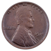 1914 1C Lincoln Cent BU Condition, Brown Color, Excellent Eye Appeal & L... - $79.19