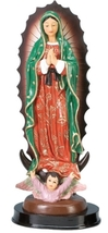 Our Lady of Guadalupe Blessed Virgin Mother Mary 5 Inch Statue - $17.99