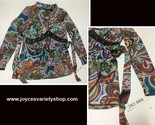 Boho chic multi color top l faux leather web collage thumb155 crop