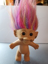 "Troll Doll Bright Of America Earring  Rainbow Hair 5""  - $7.00"
