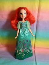 Disney Princess Ariel Little Mermaid Doll w/ Green Dress - no shoes - $9.85