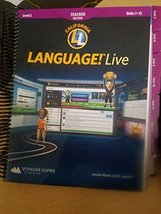 Language! Live Level 2 Teacher Edition Units 7-12 [Ring-bound]