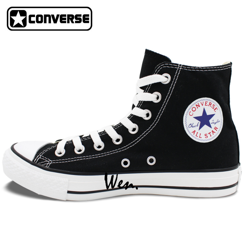 Design Fish Converse Canvas Shoes Fancy Carp Koi Sneakers Good Luck Symbol